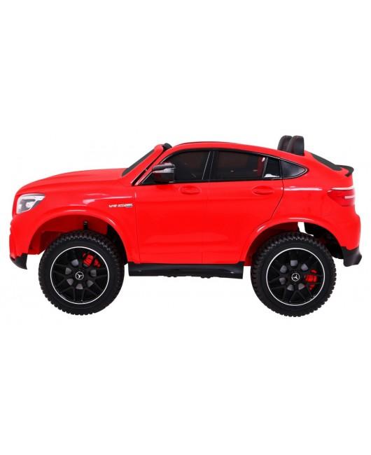 Elektrické autíčko Mercedes GLC 63S červené